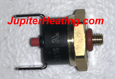 HTP 7250P-739 Thermodisc ECO Flue Switch